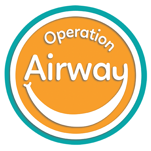 Optimized Operation Airway Logo with blue border
